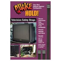 Ready America QuakeHold Flexible TV Strap
