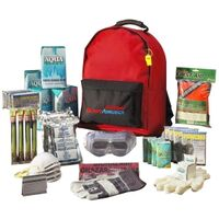 Ready America Grab 'n Go 4 Person 3 Day Emergency Kit