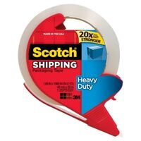 Scotch 3850-RD Packaging Tape With Dispenser