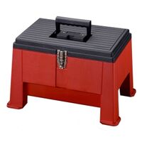 Stack-On Step 'N Stor Step Stool Tool Box