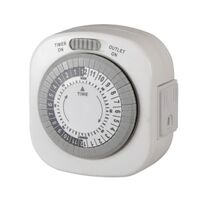 Westek TM77DHB-4 Programmable Mechanical Timer
