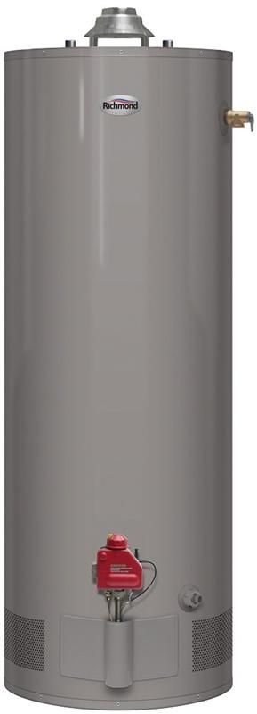 Richmond 6g50 36pf3 Tall Gas Water Heater Propane Gas 50