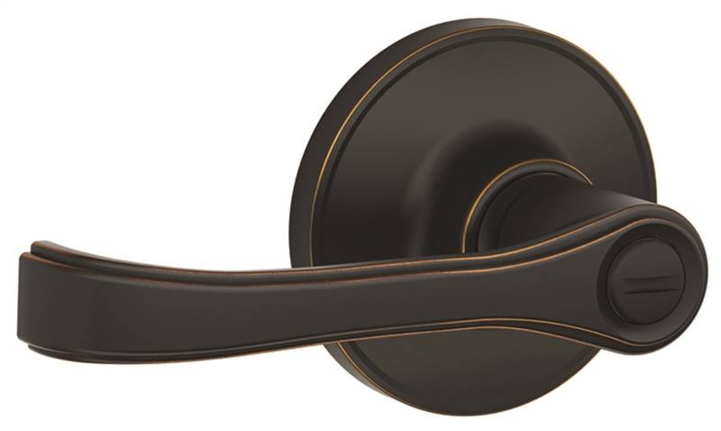 Schlage J40tor716 Straight Transitional Privacy Door Lever