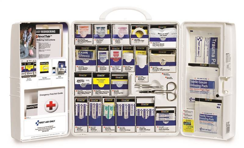 10004 KIT FIRST AID CABINET W/MEDS