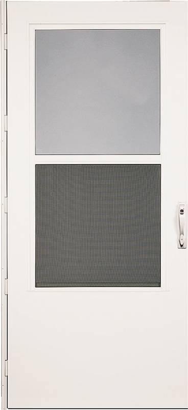 Weartuff Reversa 37050031 Mid View Storm Door 32 In W White