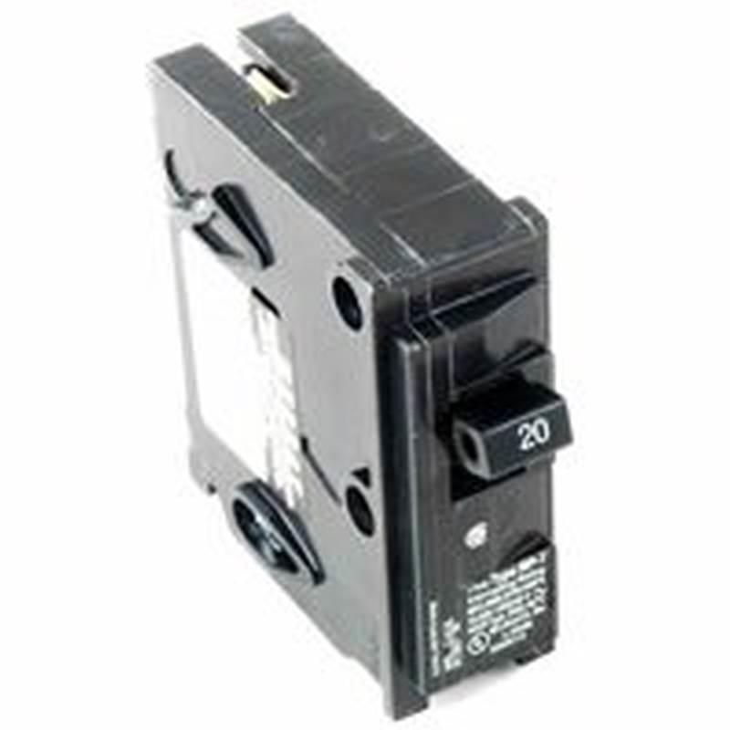 MES MP120 Type MP-T Circuit Breaker, 120 VAC, 20 A, 1 P, 10 kA