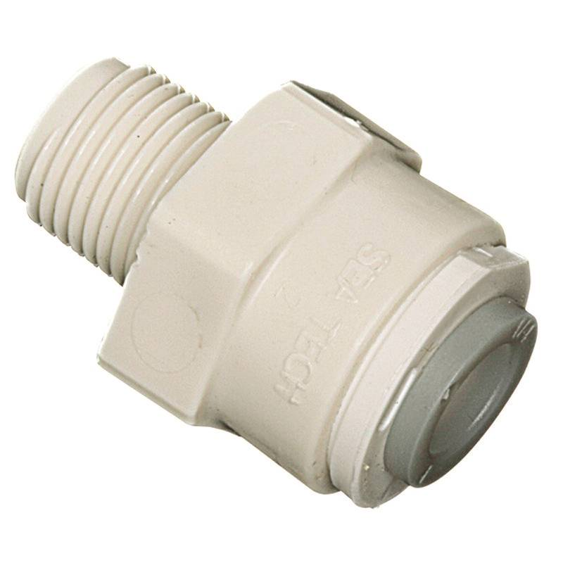 Watts Pl 3025 Multi Purpose Push Fit Tube To Pipe Adapter 3 8 X 1