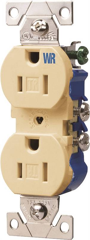 Cooper Twr270v Tamper Resistant Weatherproof Duplex Receptacle 125