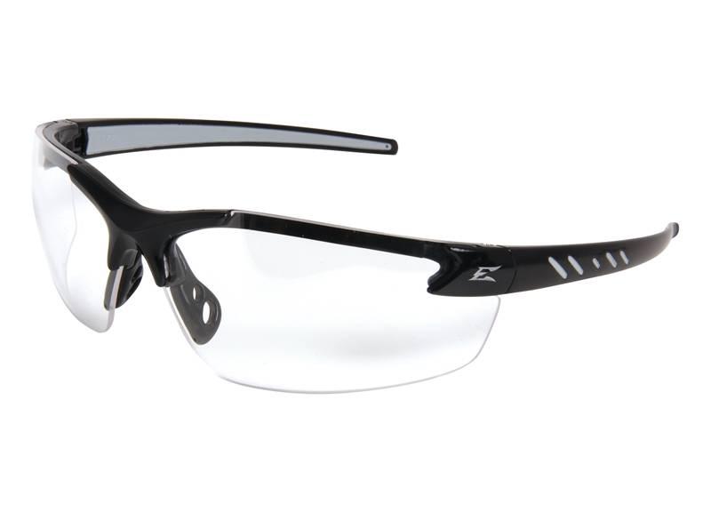 01127 GLASSES SFTY BLK/CLR 1.5 ZORGE