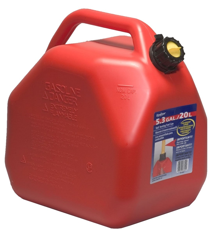 Scepter 7622 Jerry Gas Can 5 3 Gal Self Venting