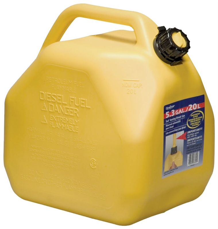Scepter 7649 Jerry Gas Can 5 3 Gal Self Venting