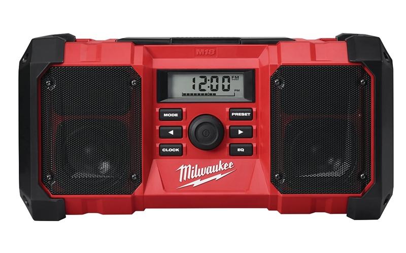RADIO 10-CHANNEL LCD DISP M18
