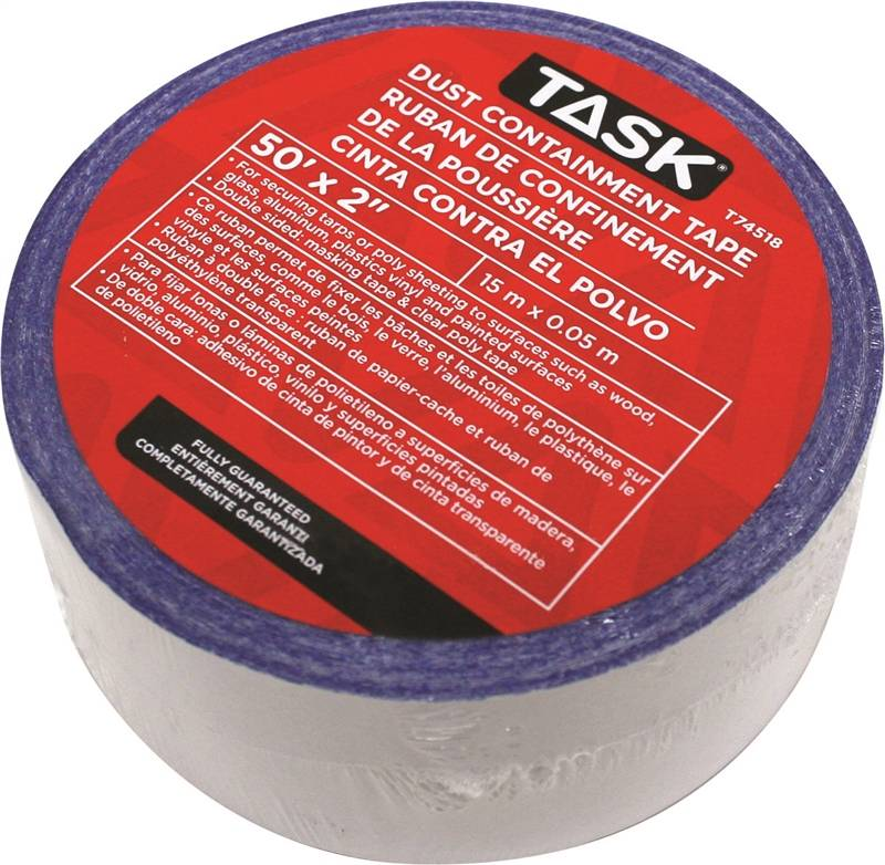 Task T74518 Dust Containment Tape 2 In X 50 Ft Poly Clear