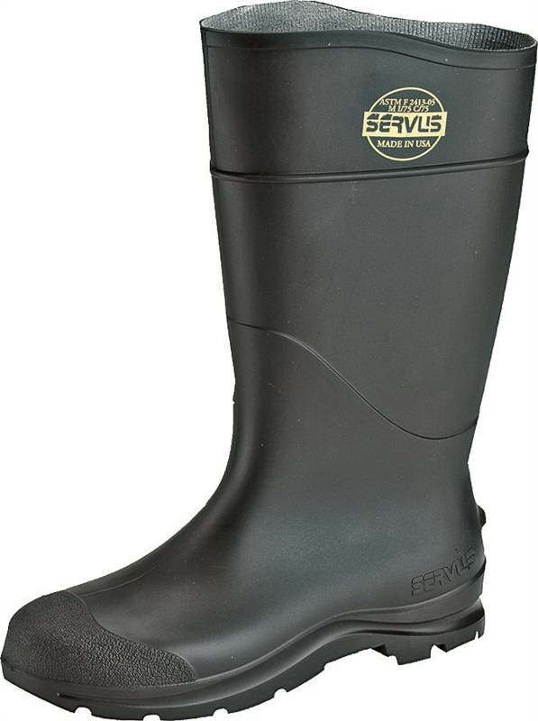 18036 BOOT PVC ST TOE 16IN BLACK 9