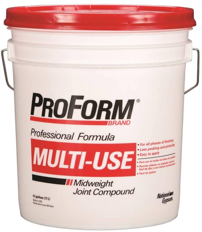 National gypsum jt0043 usg proform joint compound multi for National gypsum joint compound