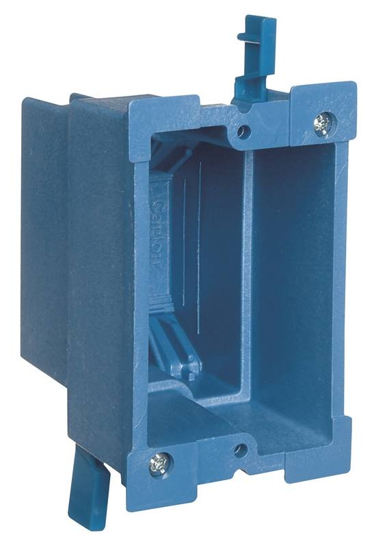 carlon super blue bh118r old work outlet box