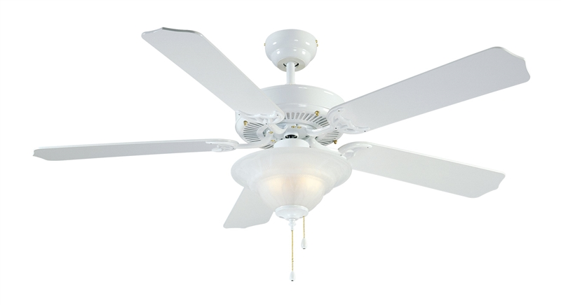 Boston Harbor Cf B 552 1f242wh Ceiling Fan 5 Blade White