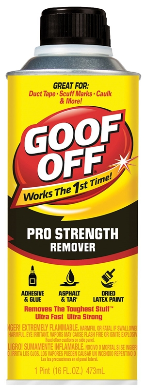 Goof Off Fg653 Professional Strength Adhesive Remover 16