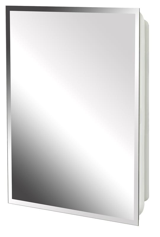 Zenith Mp109 Beveled Mirrored Frameless Swing Door