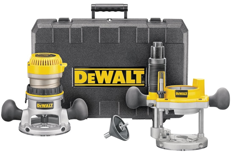 Dewalt Dw616pk Fixed Base Corded Router Combo Kit 11 A 1