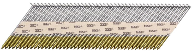 Senco HC27APBX Stick Collated Framing Nail, 0.12 in x 3 in, 34 deg