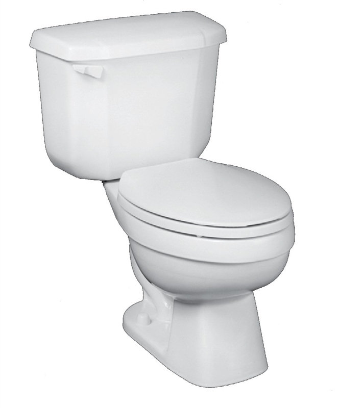 John In A Box 7668jb 00 Fully Glazed Flush Toilet 1 6 Gpf