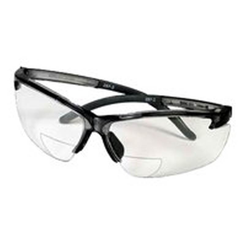 MSA Safety 10065847 Safety Glasses, Bifocal, Clear Lens Color
