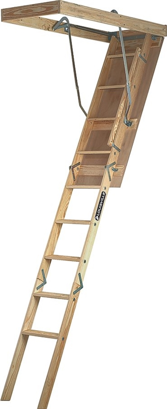 Louisville Premium S224pf Attic Stair 250 Lb 3 1 2 X 71 In