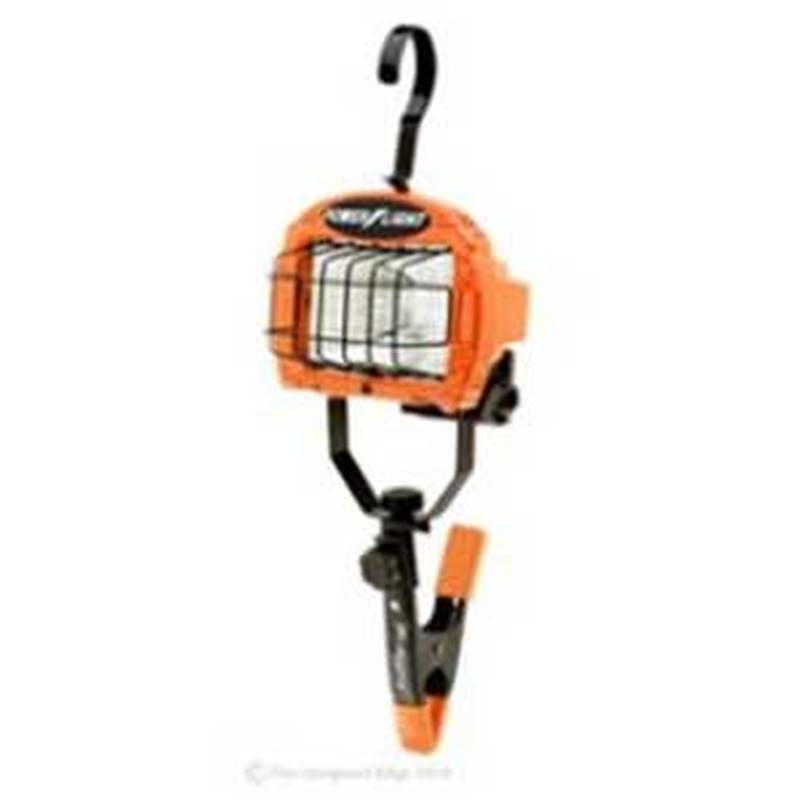 Designers Edge Portable Fluorescent Work Light: Designers Edge L-845 Portable Work Light, 120 VAC, 250 W