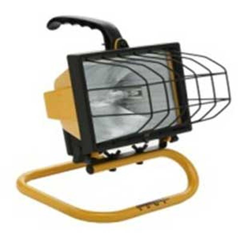 Designers Edge By Coleman Cable L1325 Ecozone Portable: Designers Edge L-20 Portable Work Light, 120 VAC, 500 W