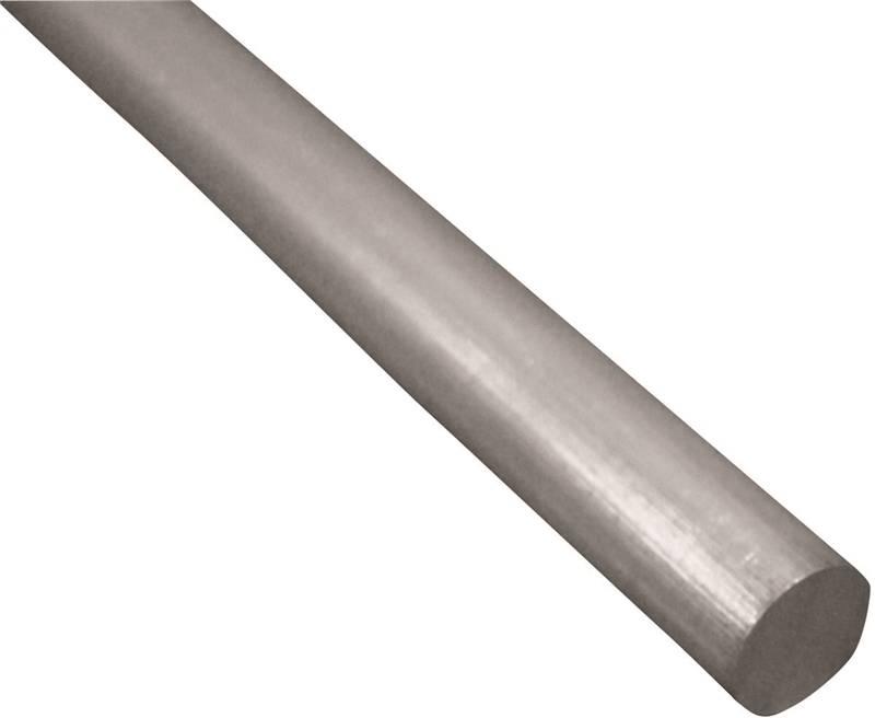 L Round  Aluminum Tube x 12 in K/&S  5//16 in Dia