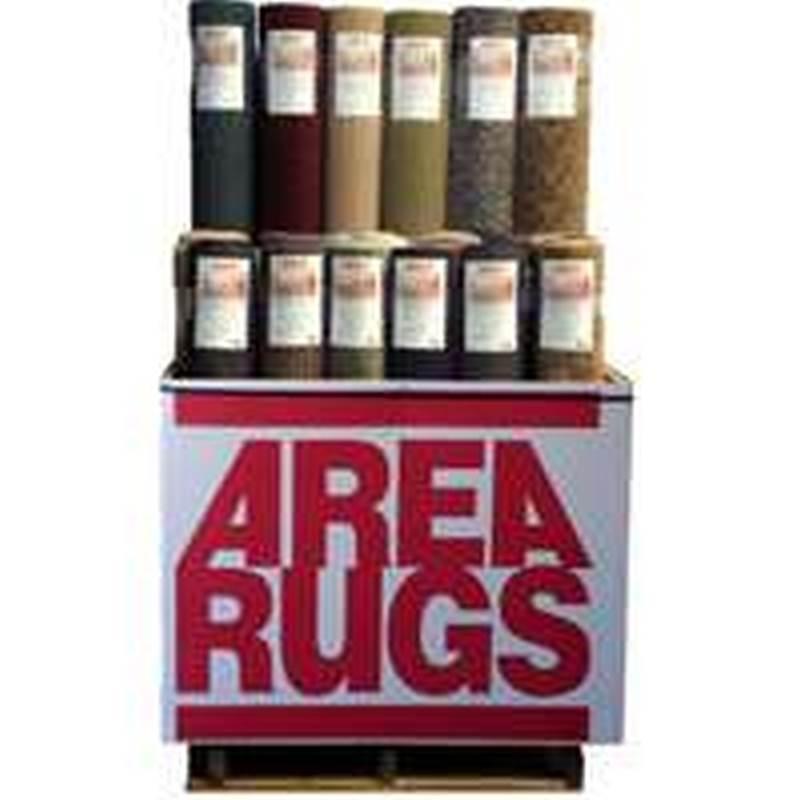 Designer Rugs BTS09 Area Rug Display, 18 Pieces