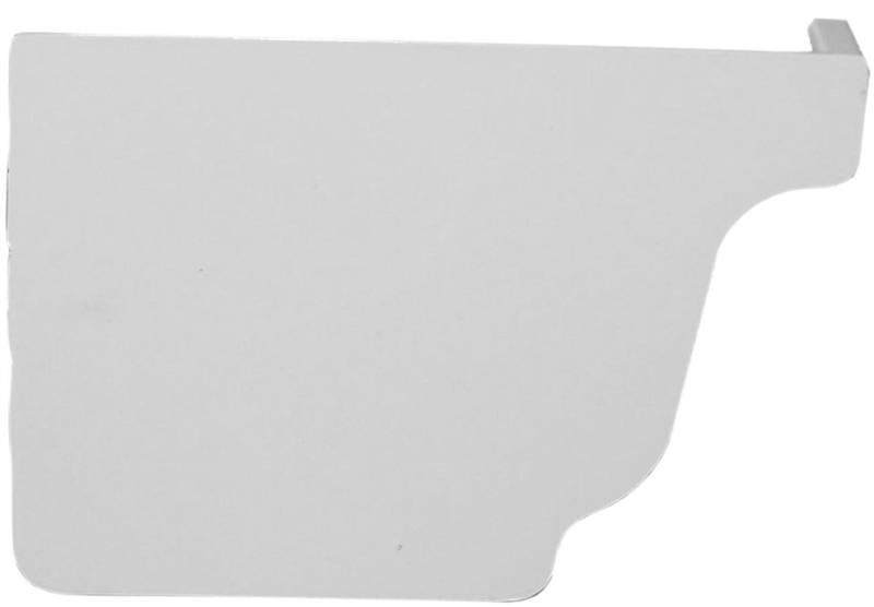 """Genova AW102K Left Gutter End Cap 3.6/"""" x 1.1/"""" x 5.1/"""""""