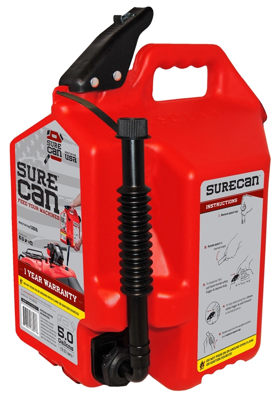 00021 CAN GAS PORTABLE 5 GALLON