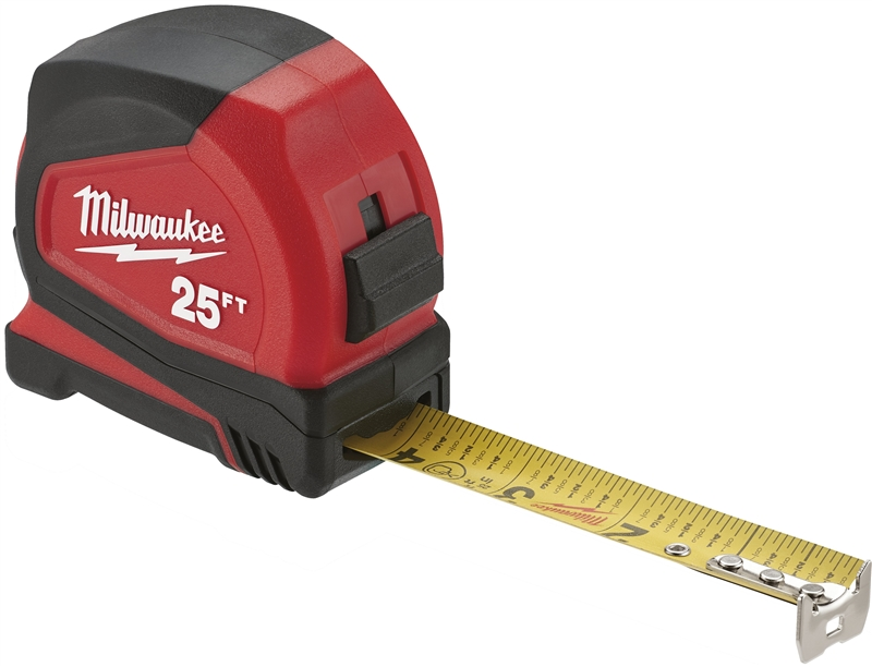 TAPE MEASURE COMPACT 25FT
