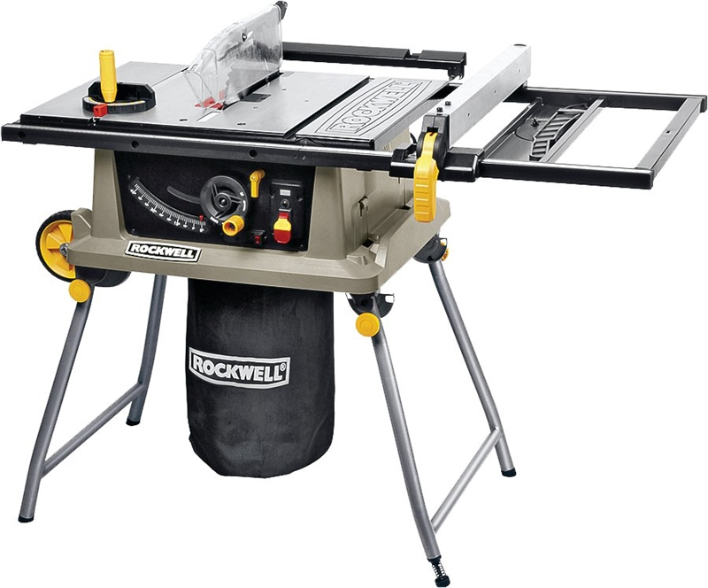 Rockwell portable table saw trolley stand 120 vac 15 a for 99 table saw