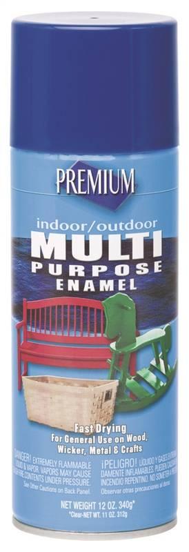 Rustoleum Premium Multi-Purpose Spray Paint, 12 oz Aerosol Can, Royal Blue