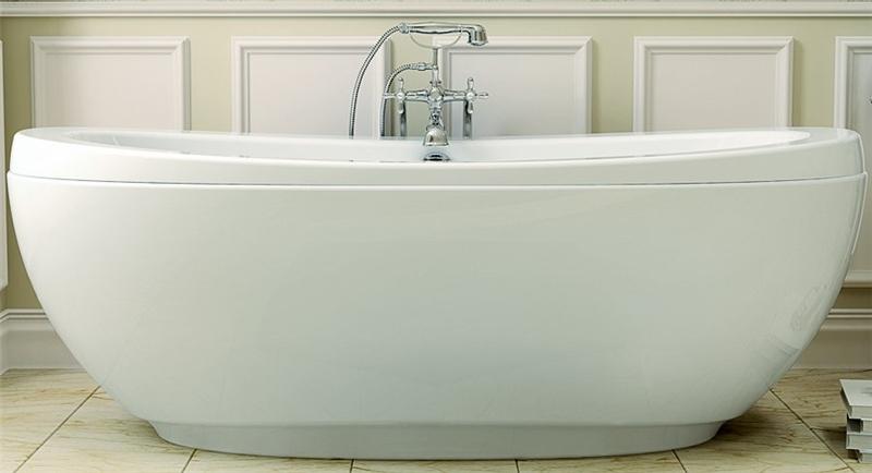 Reverie 105463-000-001-00 Bathtub, 67 in L X 37 in W X 24 in H, 14 ...