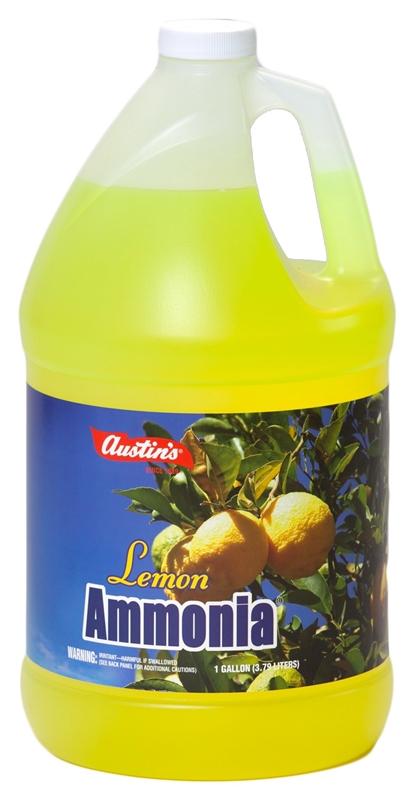 Gallon Lemon Ammonia Case of 4