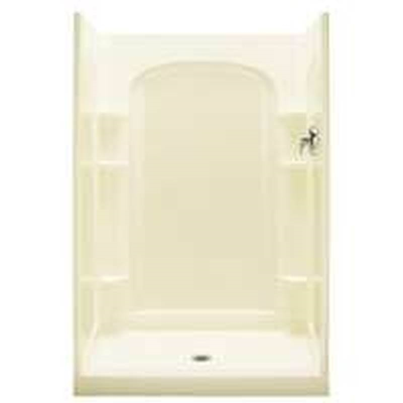 Sterling Ensemble 7222 Curve Shower Back Wall, 72-1/2 in L X 48 in W ...