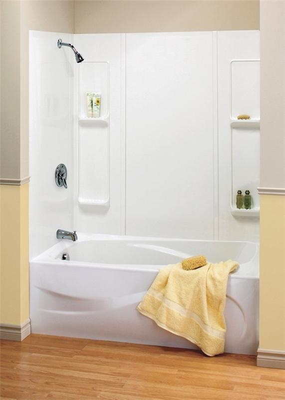 Bon Maxx Elan 101593 000 129 5 Piece Bathtub Wall Kit