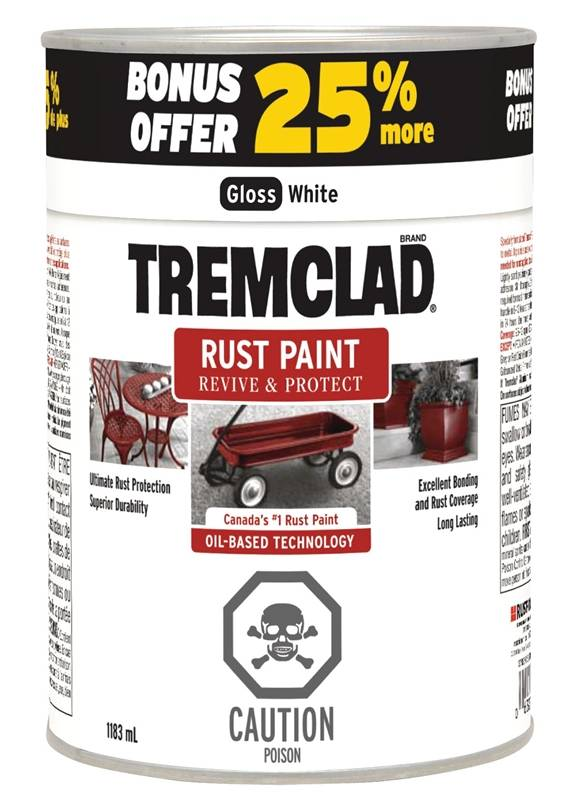 Rustoleum 264158 Tremclad Oil Based Paint Rust Inhibitive
