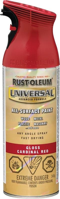 Rustoleum 246437 Universal Spray Paint, All-Surface, Cardinal Red