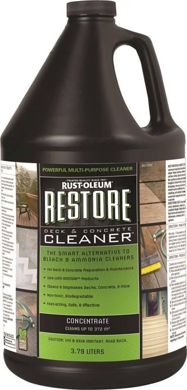Rustoleum 81752 Deck And Concrete Cleaner 3 7 L Liquid