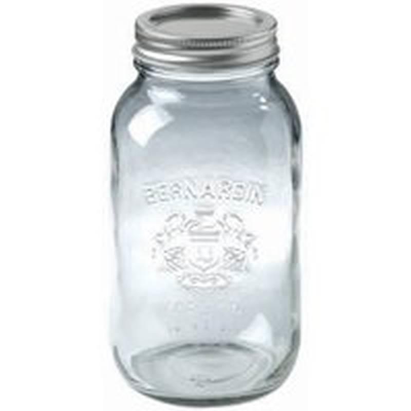 Bernardin 11900 Regular Wide Mouth Mason Jar 1 9 L