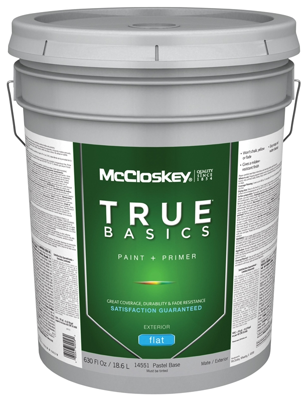 1acf7c9d7 Mccloskey True Basics 14551 Latex Paint