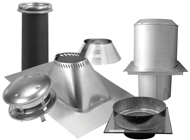 Sure Temp 206620 Flat Ceiling Support Kit 6 In Stainless