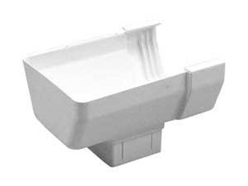Tuffflo T1409 Contemporary Style Gutter End With Outlet 4