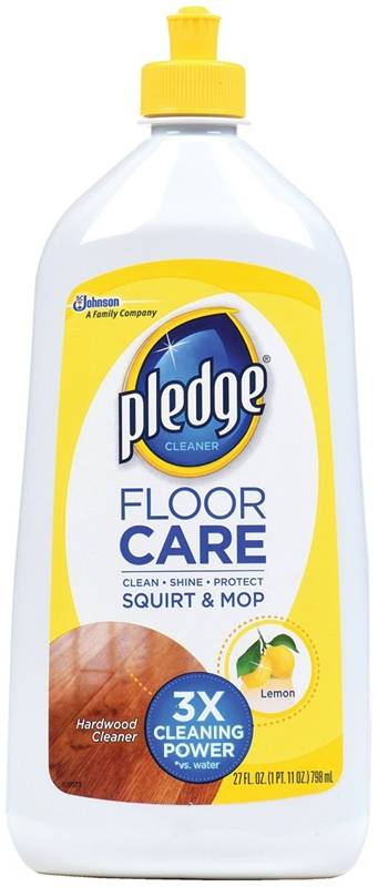 Pledge 81316 Concentrated Floor Cleaner 27 Oz Squirt