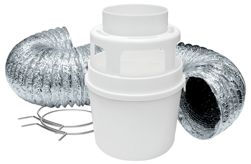 Lambro 211l Dryer Lint Trap Kit 4 Pieces 4 In X 5 Ft
